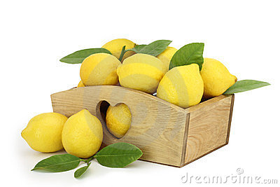 Lemons in the box