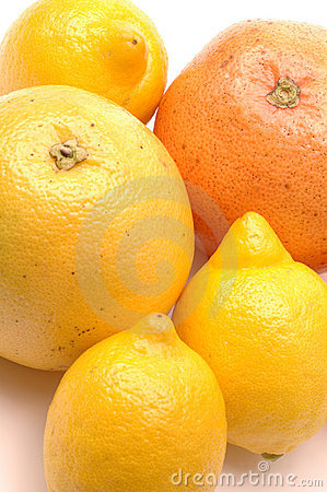 Lemons and grapefruits