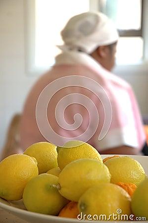 Lemons and maid