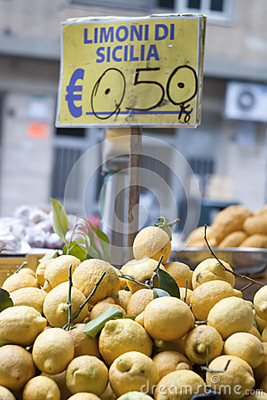 Lemons of sicily for sale
