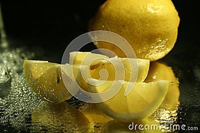 Lemons slices