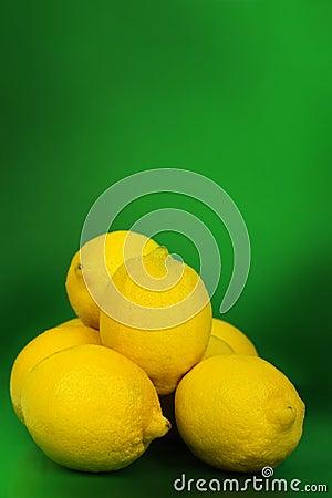 Lemons, still life.