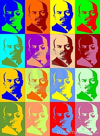 Lenin portraits