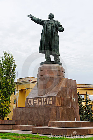 Lenin statue in Volgograd, Russia