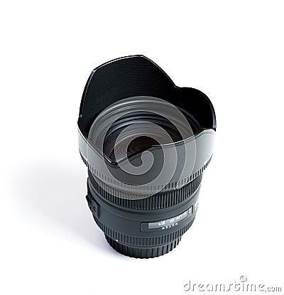The lens.