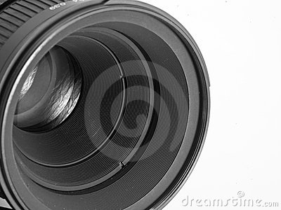 Lens of the camera
