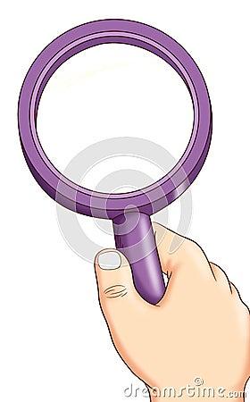 Lens of enlargement