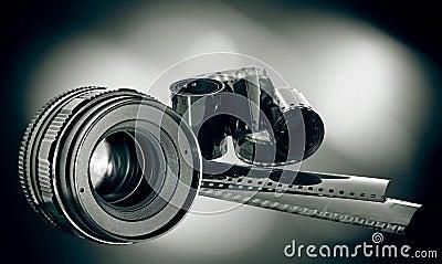 Lens & film strip