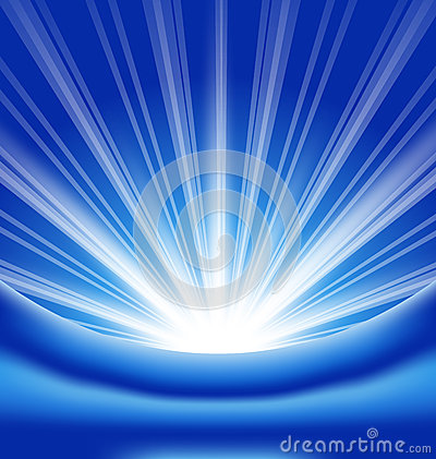 Lens flare, abstract background