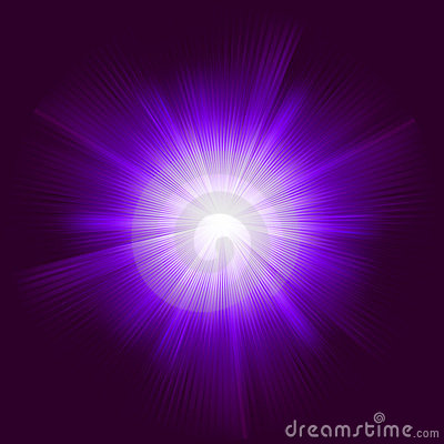 Lens flare vector background.