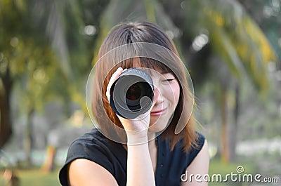 Lens Girl