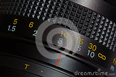 Lens Scale Royalty Free Stock Photo - Image: 25755335