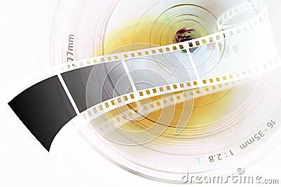 Lens strip