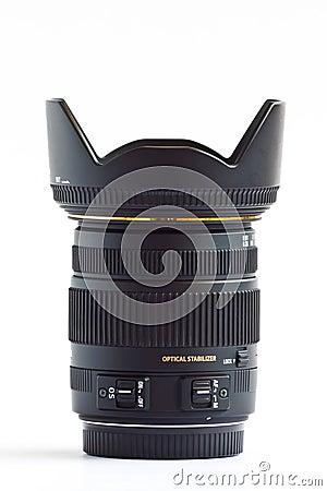 Lens zoom normal for DSLR.