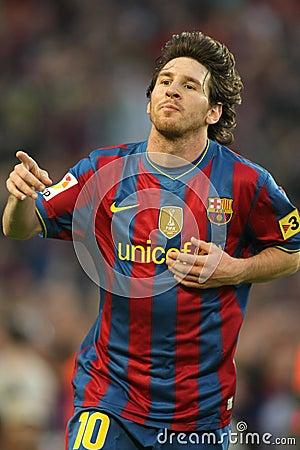 Leo Messi enjoy Editorial Image
