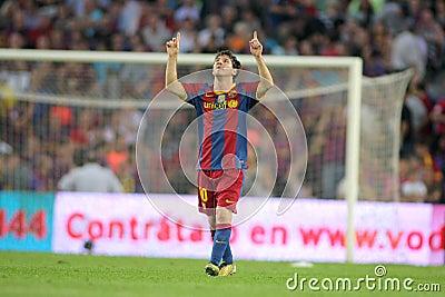 Leo Messi of FC Barcelona Editorial Stock Photo