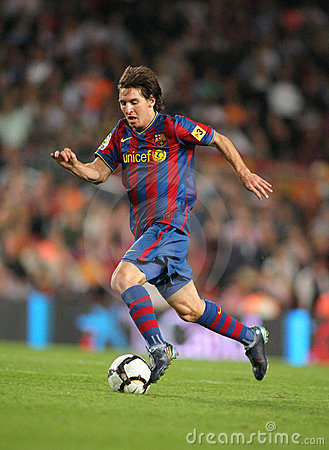 Free Leo Messi In Action Stock Photography - 10995282