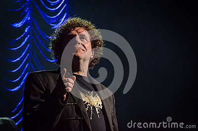 Leo Sayer Editorial Stock Photo