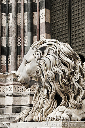 Free Leo. The Cathedral Of San Lorenzo, Genoa, Italy Stock Images - 22456964