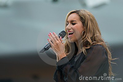 Leona Lewis in Concert Editorial Photography