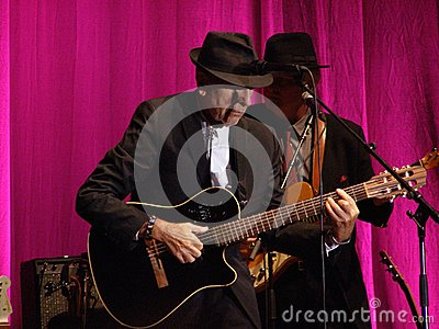 Leonard Cohen - Florence 2010 Editorial Photography