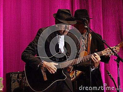 Leonard Cohen - Florence 2010 Redaktionell Arkivbild