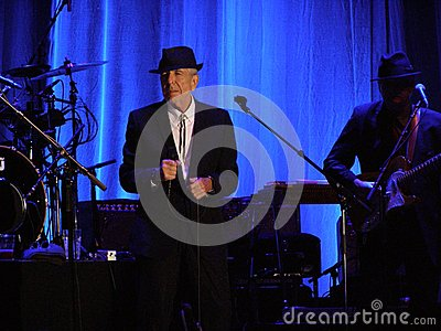 Leonard Cohen - Florence 2010 Stock Photo - Image: 27998240