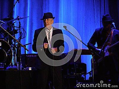 Leonard Cohen - Florence 2010 Editorial Image