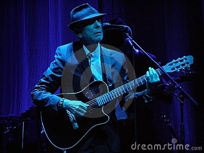 Leonard Cohen performs in Florence 1.IX.2010 Editorial Stock Photo