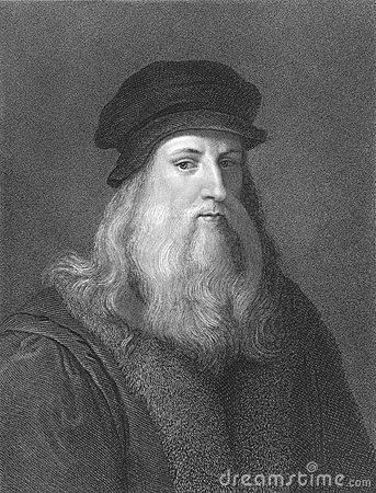 Free Leonardo Da Vinci Royalty Free Stock Photo - 19445595