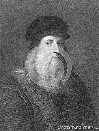 Leonardo Da Vinci Editorial Image