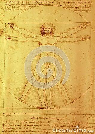 Leonardo da Vinci Editorial Stock Photo