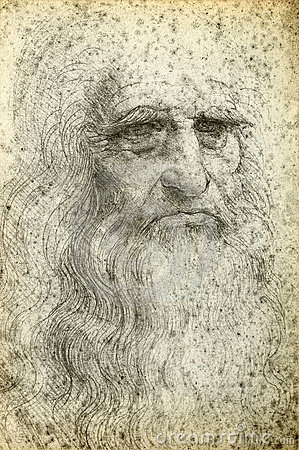 Leonardo da Vinci Editorial Stock Photo