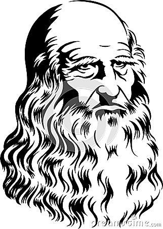 Leonardo Da Vinci/eps