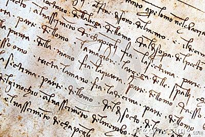 Leonardo da Vinci manuscript Editorial Image