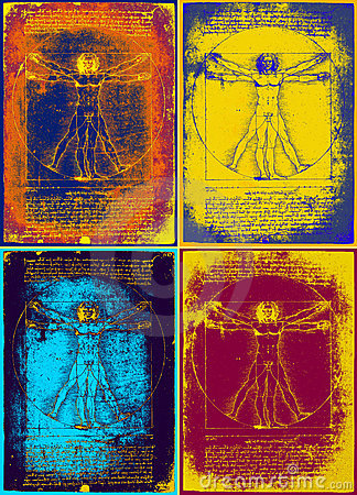 Free Leonardo S Vitruvian Man Stock Image - 18787701