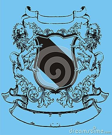 Leone dell araldica