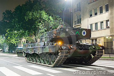 Leopard 2A4 Editorial Image