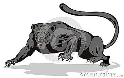Leopard auf dem Prowl