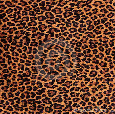 Free Leopard Spots Fabric Pattern Royalty Free Stock Images - 5945609