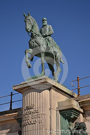 Free Leopold II Statue - King Of The Belgians Royalty Free Stock Photo - 44986795