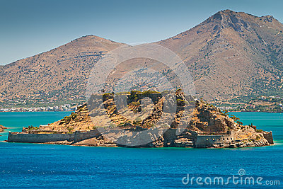 Leper colony on Spinalonga island, Crete