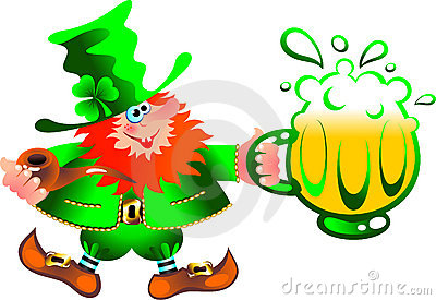 Leprechaun artful gnome