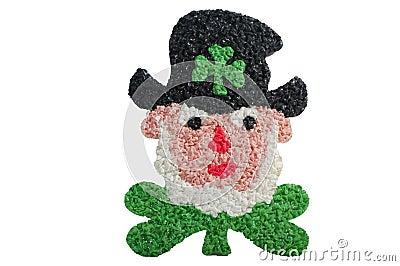 Leprechaun del día del St. Patricks