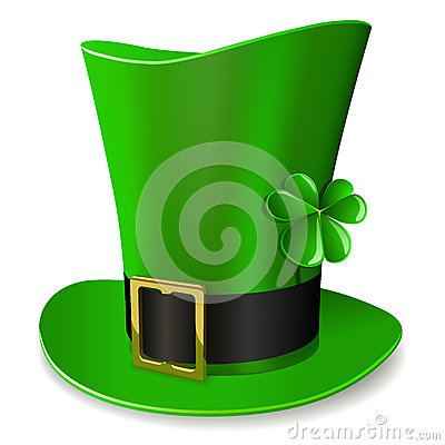 Leprechaun green hat