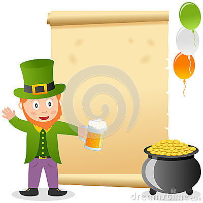 Leprechaun and Old Parchment