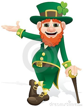Free Leprechaun Presenting Royalty Free Stock Images - 17617469