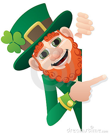 Free Leprechaun Sign Royalty Free Stock Photo - 17635245