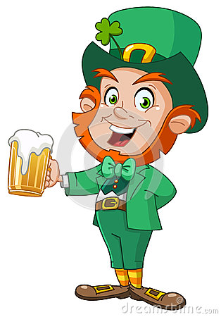 Free Leprechaun With Beer Stock Photos - 29301423