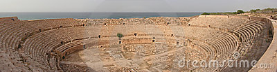 Leptis  amphitheatre